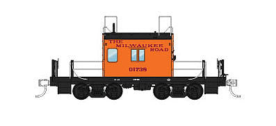 Fox Valley Models 91159 N Milwaukee Road Transfer Caboose  Freight Car #01738