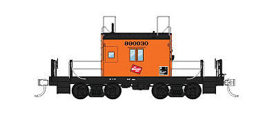Fox Valley Models 91164 N Milwaukee Road Transfer Caboose Freight Car #999035