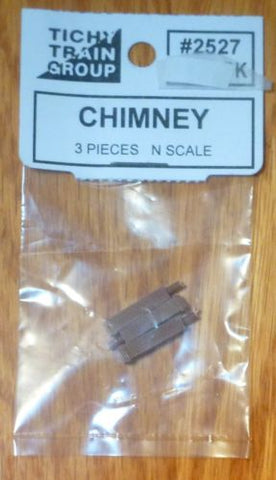 Tichy 85102 N Brick Chimney 3 Pack