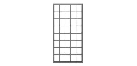 "Tichy 2059 O Double Hung Masonry Window 20/20 60 x 120"" (4)"
