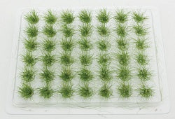 "Walthers 949-1112 HO Grass Tufts 1/2"" 1.2cm Tall Summer (Pack of 42)"
