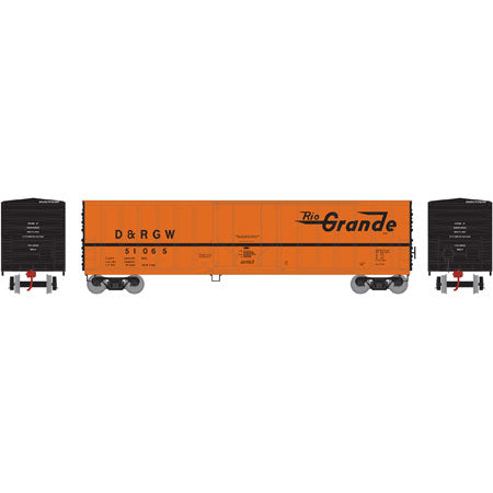 Athearn 06607 N D&RGW 50' NACC Box Car #51065