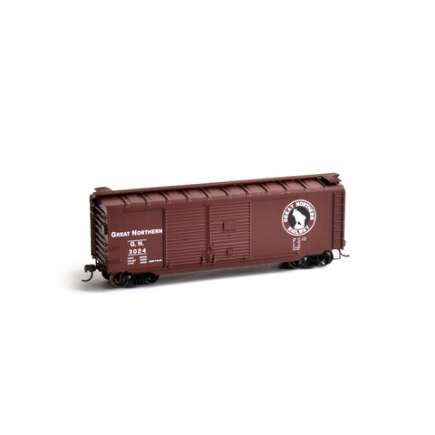 Athearn 14729 HO Great Northern RTR 40' Double Door Box Car #3024