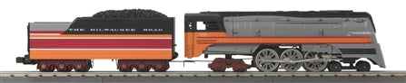 MTH 30-1683-1 O Milwaukee Road 4-6-4 Imperial Hiawatha Hudson Steam Locomotive #105