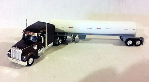Trucks N' Stuff 60118 HO Coronado Mid-Roof Tractor with Cryo Tank Trailer