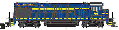 Atlas 10002093 HO East Penn Railway GE B30-7 Phase 1 Low-Nose Diesel Engine with Sound & DCC #7874