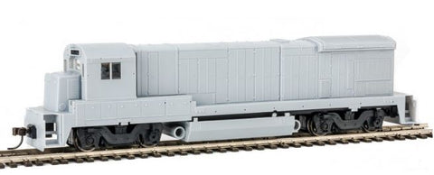 Atlas 10002051 HO Undecorated GE B23-7 Phase 2 Low-Nose Diesel Engine without Light and Anticlimber