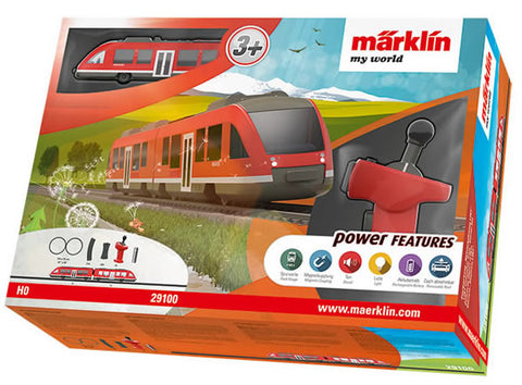 Marklin 29100 HO My World LINT Commuter Train Battery Starter Set