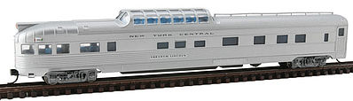 Con-Cor 41377 N New York Central Budd 85' Corrugated-Side Dome-Observation Car