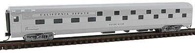 Con-Cor 41312 N California Zephyr Budd 85' Corrugated-Side 24-8 Slumbercoach Car