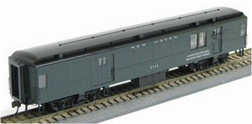Con-Cor 95103 HO New Haven Heavyweight 65' Branchline Baggage-Mail Car #2763