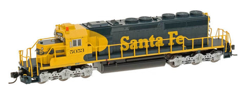 InterMountain 69320S N Santa Fe SD40-2 w/ESU & Dcc/Sound Diesel Loco