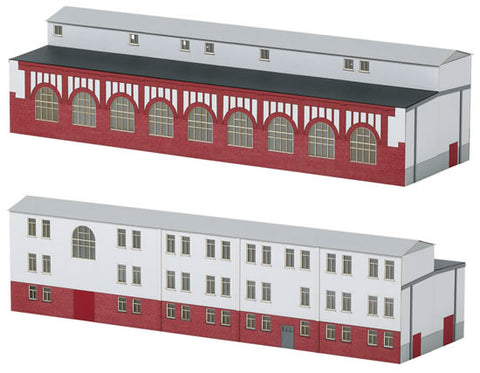 Trix 66319 N Mannheim Workshop Annex Building Kit