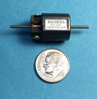 A-Line 40323 HO Mashima Motor with 1.5mm Shaft - 12 x 20mm