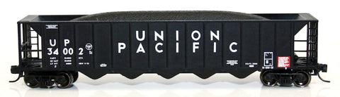 Fox Valley Models 83601-5 N Union Pacific Ortner 5-Bay Rapid Discharge Hopper Freight Car #34024