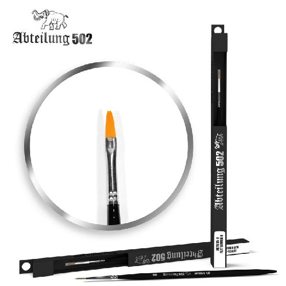 Abteilung 502 8358 Size 8 Synthetic Flat Brush