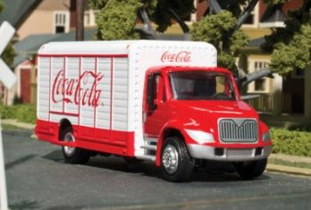 Atlas 30000108 HO Coca Cola Beverage Truck - Assembled