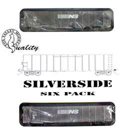 Fox Valley Models 30420 HO Norfolk Southern Silverside Coal Gondola #1 (6)