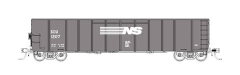 Fox Valley Models 30419 HO Norfolk Southern Silverside Coal Gondola #2
