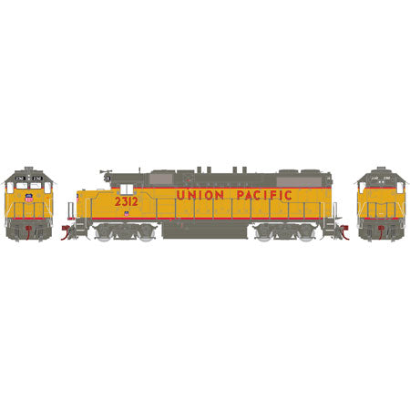 Athearn G65362 HO Union Pacific GP38-2 Diesel Locomotive Phase 2 #2312