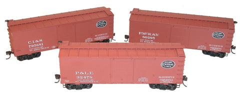 Accurail 8086 HO New York Central Subsidiary 36' Wood Boxcar