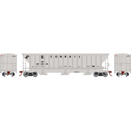 Athearn 14708 HO Conrail PS 4740 3-Bay Covered Hopper Car RTR #886045