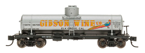 Intermountain 66341 N Scale Gibson Wine ACF Type 27 Riveted 8,000g Tank Car