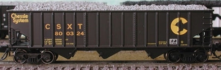 Bluford Shops 14391 N Chessie System CSX Transporation 14-Panel 3-Bay Hopper
