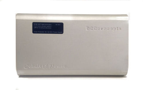 DCC Concepts DCDPWR Cobalt Alpha Power 5 amp DC/DCC Power Supply