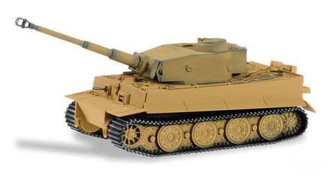 Herpa 745536 HO Tiger Tank Hybrid - Assembled (Light Brown)