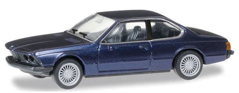 Herpa 38683 HO BMW 635 Csi 2-Door - Assembled (Various Metallic Colors)