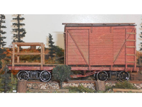 RS Laser Kits 1402 O 24 ft MOW/Caboose