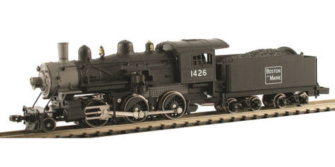 Model Power 876011 N Boston & Maine 2-6-0 Mogul Steam Loco with Sound & DCC