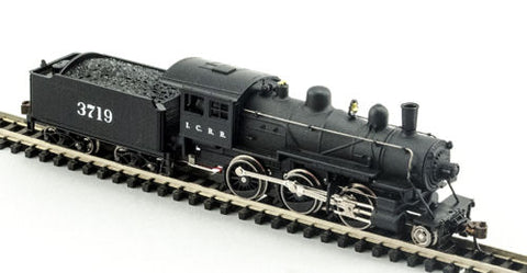 Model Power 87618  N Illinois Central 2-6-0 Mogul - Standard DC