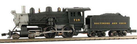 Model Power 87623 N Baltimore & Ohio Steam 4-4-0 American - Standard DC