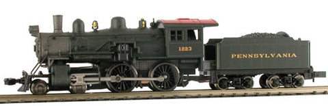 Model Power 876311 N Pennsylvania Railroad 4-4-0 American with Sound & DCC