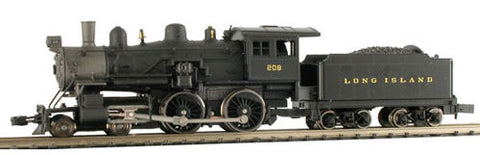 Model Power 876371 N Long Island 4-4-0 American with Sound & DCC