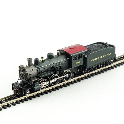 Model Power 876081 N Pennsylvania 2-6-0 Mogul with Sound & DCC