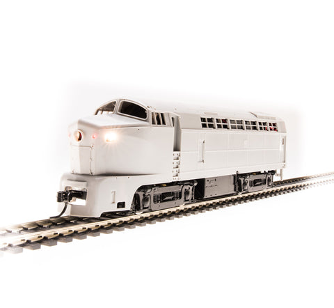 Broadway Limited 4154 HO Undecorated Baldwin RF16A Sharknose with Sound& DCC