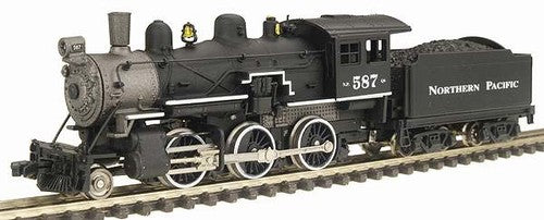 Model Power 87606 N Northern Pacific Steam 2-6-0 Mogul - Standard DC