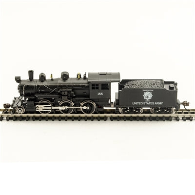 Model Power 87615 N US Army 2-6-0 Mogul - Standard DC
