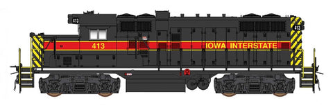 InterMountain 49808S HO Iowa Interstate Paducah GP10 with LokSound & DCC