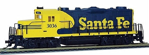 Mantua 414101 HO Santa Fe EMD GP-20 Diesel Loco DCC and Sound Equipped #3036
