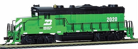 Mantua 414004 HO Burlington Northern EMD GP20 Diesel Loco Standard DC #2020