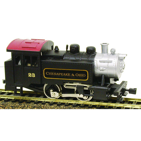 Model Power 965091 HO C&O 0-4-0 Tank Switcher Steam Loco DCC w/Snd&Rmt #23