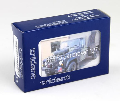 Trident Miniatures 87173 HO Land Rover 127 Truck Kit