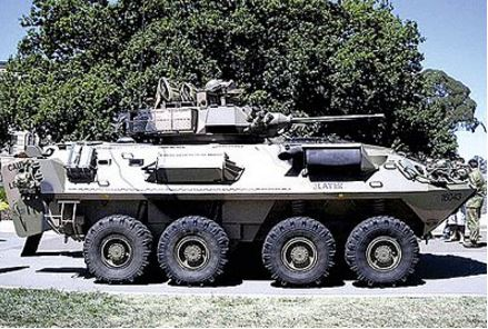 Trident Miniatures 87153 HO ASLAV 25 Australian Light Armored Reconnaissance Vehicle Kit
