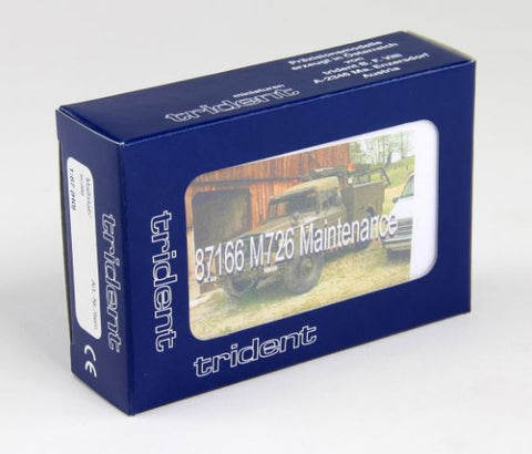 Trident Miniatures 87166 HO M726 Maintenance Truck Kit