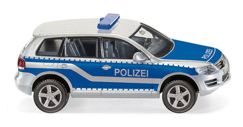 Wiking 010449 HO Police - Volkswagen Touareg GP