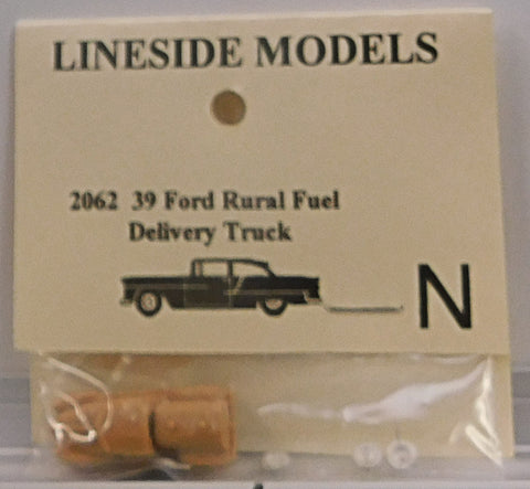 Lineside Models 2062 N 1939 Ford Rural Fuel Delivery Truck